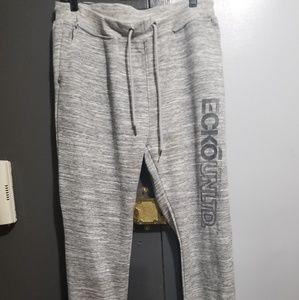 Ecko grey sweatpants